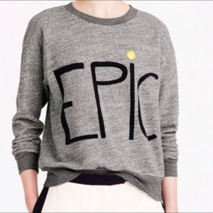 Hugo Guinness Epic grey cotton relaxed sweatshirt
